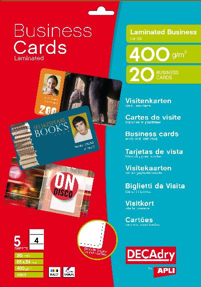 10612f 20 laminated cards 10612f decadry see our full