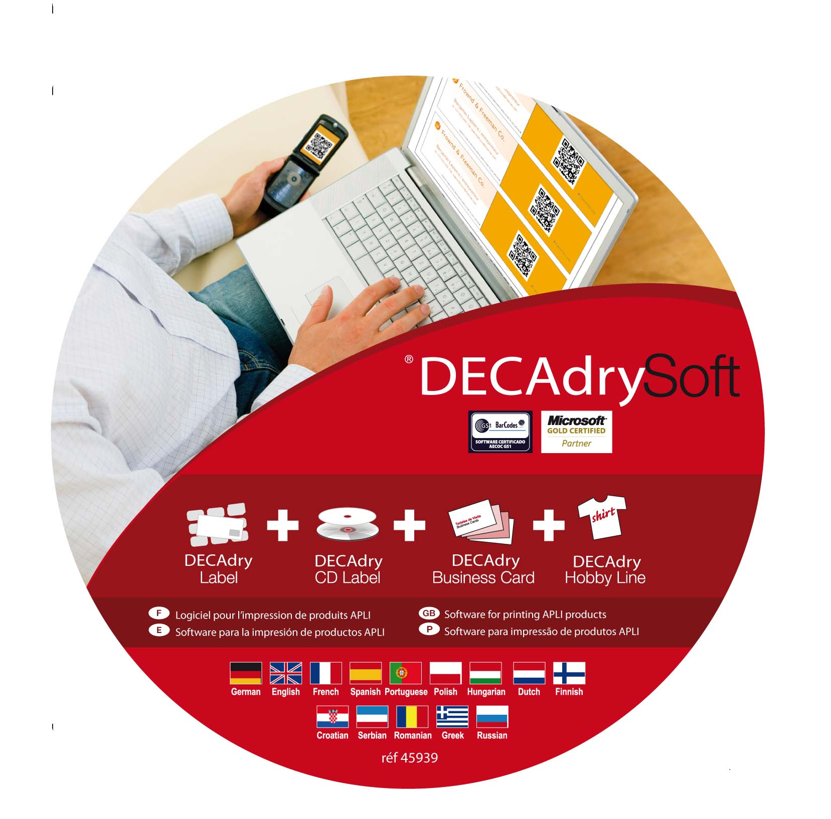decadry express business cards software free download